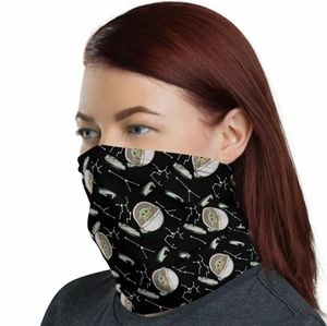 Baby Yoda Constellation Neck Gaiter / Face Cover